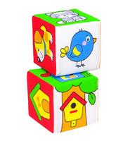 Кубики Мякиши Чей домик?