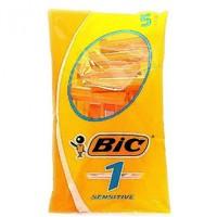 Станок BIC sensitiv однор 5шт оранж 1 лезвие*40