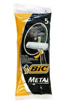 Станок BIC метал однор 5шт черн 1лезвие*30