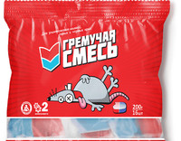 """Крысин отрава """"Гремучая смесь"""" 200г*50"""