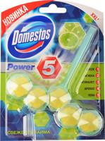 Шарики Доместос Power 5 д/унитаза Свежесть лайма*9