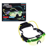 Гаджеты шпионские: очки ночного видения, свет, пластик, 2хАА, 30х19х7,5см
