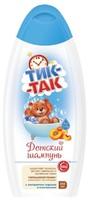 Шампунь детский ТИК-ТАК 350мл с экстрак персика и пантен*6