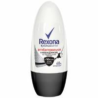 Дезодорант-ролик РЕКСОНА мужской Антибактериальный + Невидимый 50мл*6