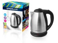 ERGOLUX ELX-KS01-C72 матово-черный (чайник нерж.сталь, 1.8л, 160-250В, 1500-2300Вт)