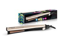 ERGOLUX ELX-HS01-C64 черный/золото (выпрямитель для волос, 30Вт, 220-240В)