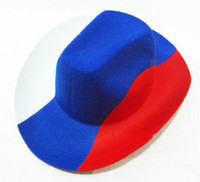 Шляпа карнавал российский флаг бархат 30078