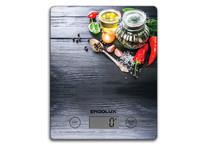ERGOLUX ELX-SK02-С02 черные, специи (весы кухонные до 5 кг, 195*142 мм)
