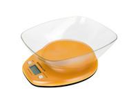 ERGOLUX ELX-SK04-C11 оранжевые (весы кухонные до 5 кг со съемной чашей)