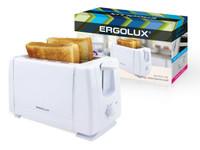 ERGOLUX ELX-ET01-C01 белый ( электрический тостер 220-240 В, 700 Вт)