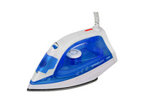 ERGOLUX ELX-SI04-C35 синий/белый (паровой электр. утюг, тефлон, 1800Вт, 220-240В)