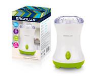 ERGOLUX  ELX-CG01-C34 бело-салатовая (электрическая кофемолка130 Вт, 220-240 В,85 гр,)