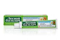 Зубная паста Лесной бальзам 75мл ромашка и масло облепихи*12