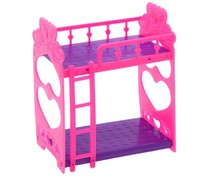 Кроватка для кукол двухъярусная «Малышка»
