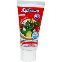 Зубная паста-гель ДРАКОША Клубника 60мл