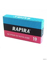 Лезвие Rapira в блоке №718 цена за 1шт*10/400