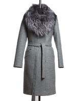 Блюз зимнее пальто (Серое)