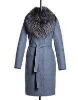 Блюз зимнее пальто (Синее)