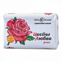 Мыло Цветы Любви Роза 90гр*6