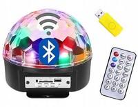 Диско Шар Цветомузыка MP3 флешка пульт с блютузом