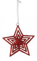 Украшение новогоднее Звезда KF15-267