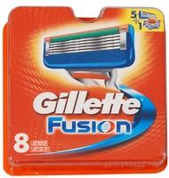 Кассета GILLETTE FUSION (8шт)