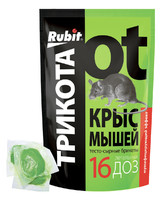 Трикота брикеты тесто от крыс 150гр зелен*50