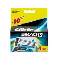 Кассета GILLETТE MACH 3 (4шт) (3531/7913)