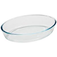 Форма для запекания 0,7л из боросил стекла овал серия Cristallino 005562