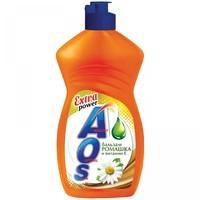 Средство д/мытья посуды AOS 450мл Ромашка Витамин Е