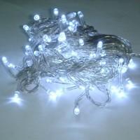 Гирлянда светодиодная 140 ламп 9м, белый холодный свет*100