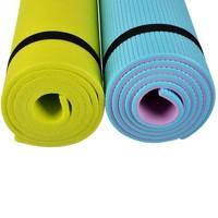 Коврик для йоги 140*50*0,6см, пенополиэтилен, 5цв