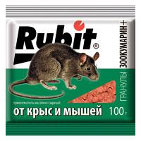 Зоокумарин Гранулы Рубит сыр 100гр*50