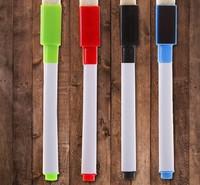 Маркер цветной на водной основе с магнитом набор 4шт