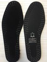 Стельки для обуви кожа черн 36-48*10/600