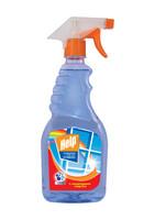 Средство д/мытья стекол ХЭЛП 750мл с нашатыр спиртом