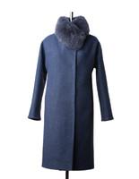 Бажена зимнее пальто (Синее)