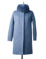Лиана зимнее пальто (Синий - Джинс)