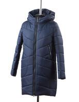 Лина куртка зимняя (Синяя)