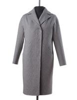 Шакира демисезонное пальто (серый-черный)
